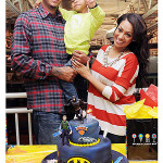 Photo: Carmelo Anthony, LaLa Celebrate Son's 4th Birthday