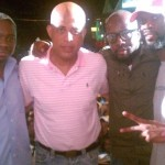 Jimmy Rosemond, Haitian Presidential Candidate Michel Martelly, Wyclef Jean, and Pras Rally Voters in Haiti