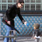 Sightings: Zahara Jolie-Pitt, Bullock's son Louis Bardo