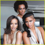 Solange, Cassie, and Selita New Faces of Carol's Daughter