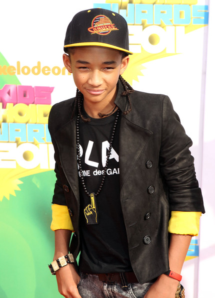 will smith kids choice awards 2011. Jaden Smith at the 2011