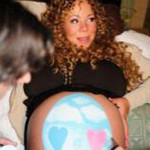 Mariah Carey Tweets Easter-Themed Photo of Pregnant Belly