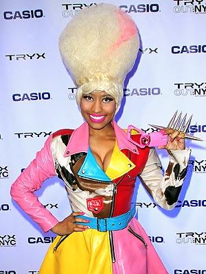 nicki minaj cartoon character. *Nicki Minaj is a show