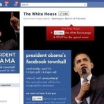 Obama's Facebook (Townhall) Campaign Trail