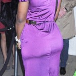 Photo: Serena Unflattering in Purple Dress?