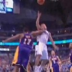 Video: Bynum Ejected for Elbow to Barea; Lakers Swept from Series by Dallas