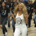 Video: Beyonce Surprises Harlem Students During 'Let's Move Workout'