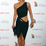 Photos: Halle Wins Perfume Award; Wears Head-Turning Dress