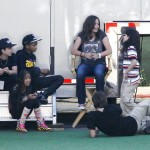 Photo: Paris, Prince and Blanket Jackson hang with Willow & Jaden