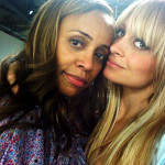 Twitpic: Nicole and Brenda Richie at the Spa