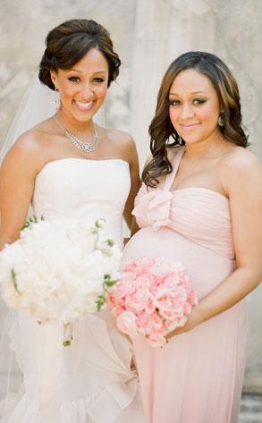 Tia Mowry Wedding Pregnant 100