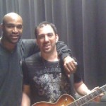Super Bowl Champ David Tyree (NY Giants) Joins Traveling Guitar Foundation at NJ School