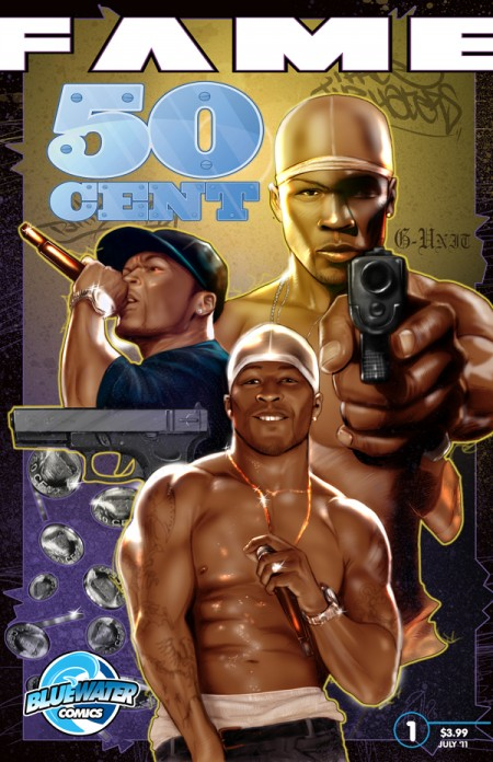 50 cent comic book