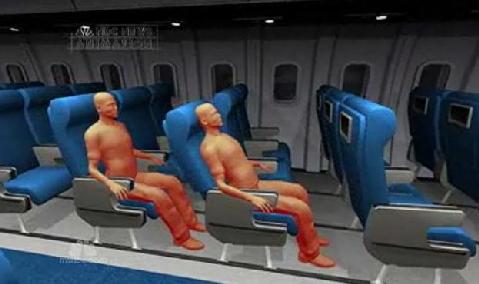 airplane passengers fight video still