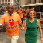 (Video) Meredith Viera Sprints to 'Today' Finish Line – Literally
