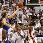 NBA Finals: Dallas Shocks Miami; Wins Game 2 95-93