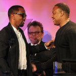 Dr. Dre Presents Diddy with Special ASCAP Award