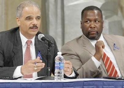 eric holder and wendell pierce