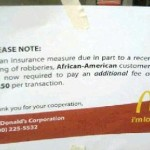 McDonald's Hoax That Charges Black Patrons More Causes Firestorm