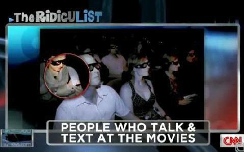 movie theater texters