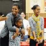 Michelle Obama, Daughters, Mother Leave for Africa Trip