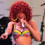 Video: Fire Forces Early End to Rihanna Concert in Dallas