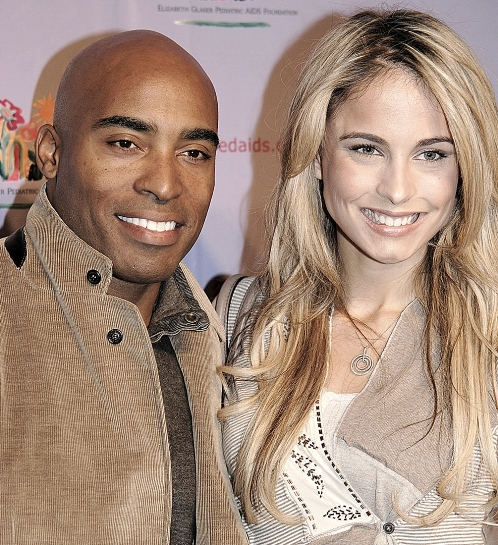 Tiki Barber Traci Lynn Johnson