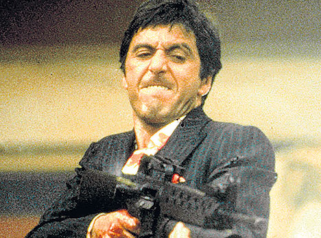 Pacino thanks hip hop for 39 scarface 39 love 39 they really get it 39 eurweb - Al pacino scarface pics ...