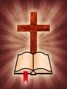 cross & bible