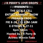 JR Perry's 'Love Drops' Presents 'The Sickle Cell Entertainment Show' in Las Vegas