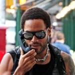 Lenny Kravitz Paranoid about Cell Phone Radiation