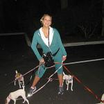 Twitpic: Mariah Carey 'Jogging Puppystyle'