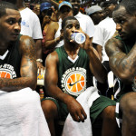 Video: LeBron, Melo, Durant in Exhibition Game at Morgan State