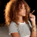 Photo: Rihanna Smoking Weed?