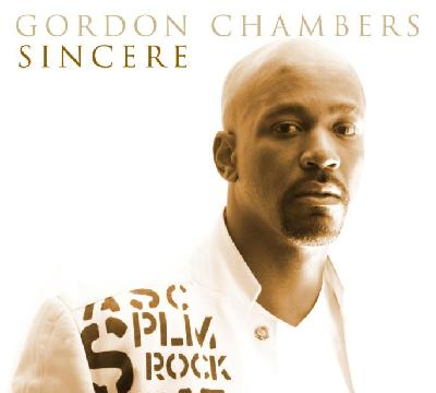 gordon chambers - sincere cd cover