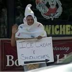 Ice Cream Costume Mistaken for Klan Costume (Video)