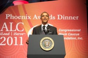 President Obama addresses CBC at Pheonix Awards Dinner