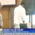 Video: 17-Year Old Whips It Out and Pees in Court Trash Can