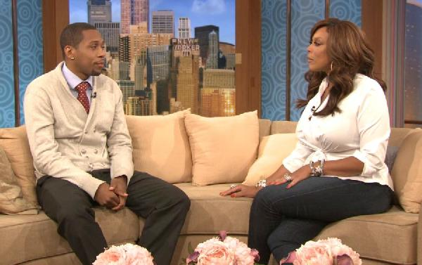 Quran 'Storm' Pender and Wendy Williams in a scene from 'The Cookout 2'