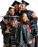 young black grads