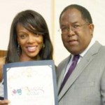 Wendy Raquel Robinson's Amazing Grace Conservatory Installs Youth Computer Center Courtesy of GTECH Corp.