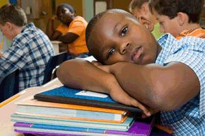 black student
