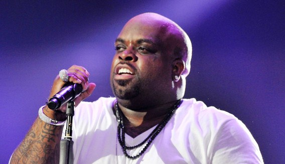 Cee Lo performs at the Michael Forever concert held at The Cardiff Millennium Stadium. (October 8, 2011)