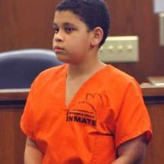 Cristian Fernandez, 12, is being charged with first degree murder of his two-year old half brother