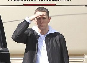 Rapper Eminem turns 39 today.