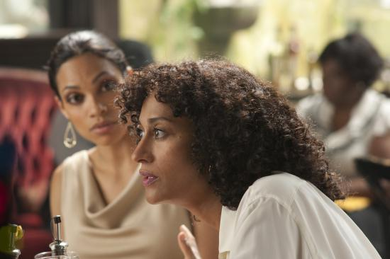 "Dawson (L) and Tracee Ellis Ross in ""FIve"""