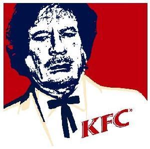 kaddafi fried chicken
