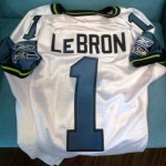 Seattle Seahawks Throw Hat in the Ring for LeBron