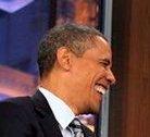 obama jay leno closeup