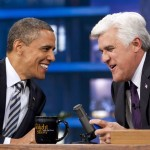 Leno: Obama Talks Politics, Kardashians, Roscoe's (Video)